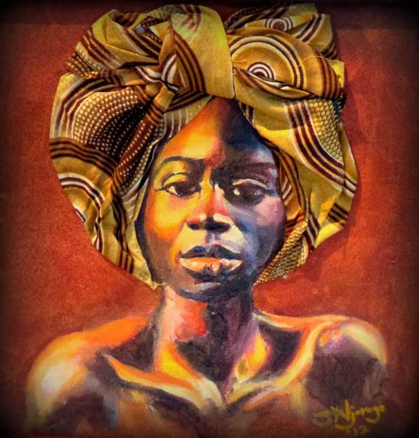 African American Woman Art Paintings