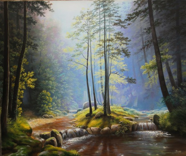Landscape Famous Oil Paintings