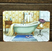 Bathtub paintings