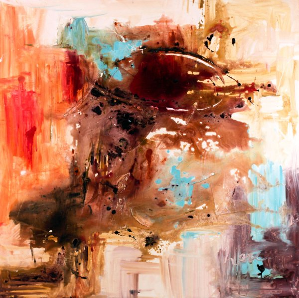Christian Abstract Art Painting