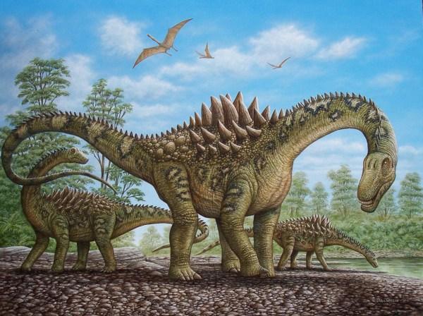 Phil Wilson Dinosaur Paintings