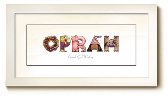 Personalized Name Paintings