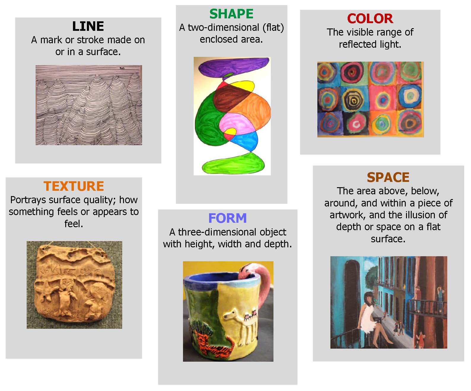Elements Of Paintings