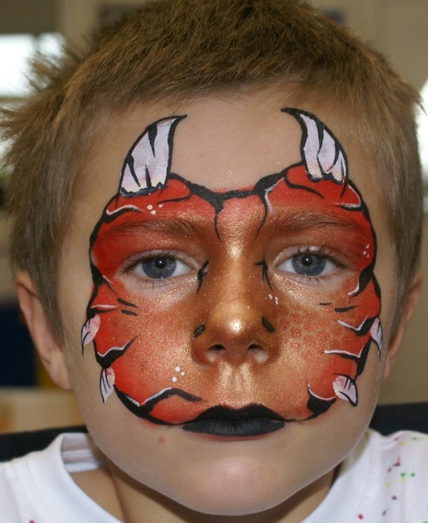 Boy Face Paintings