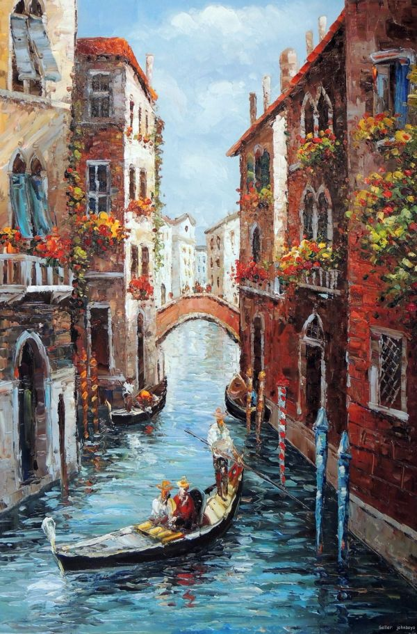 Venice Italy Oil Paintings Art