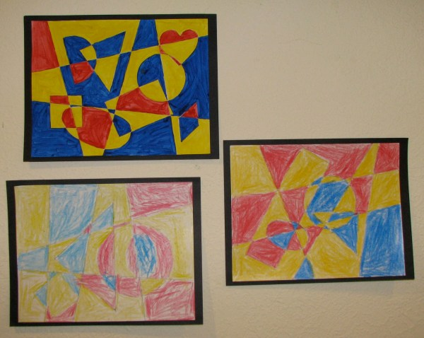 3d Geometric Paintings Famous - Year of Clean Water