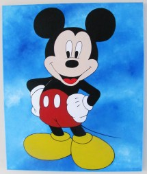 Mickey Mouse Paintings