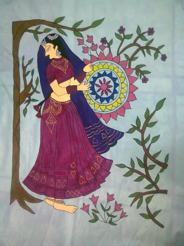 Painting On Fabric Designs