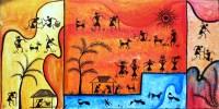 Modern Warli paintings