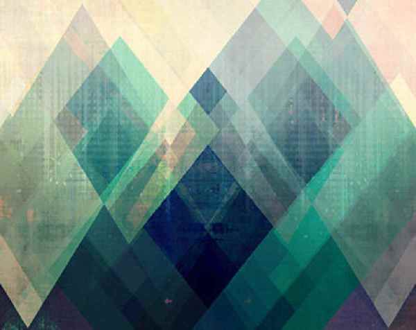 Modern Geometric Abstract Art Paintings