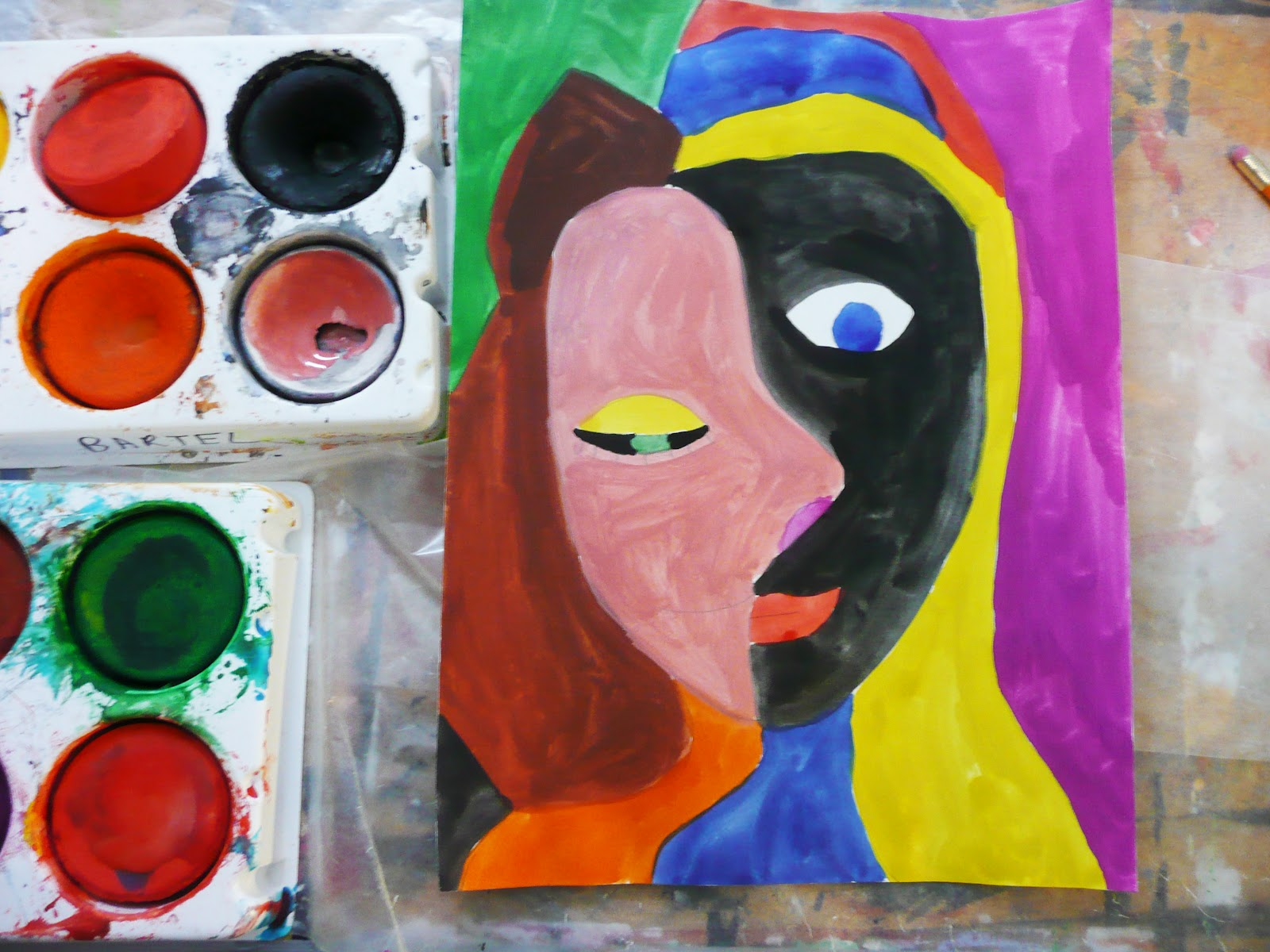 Easy Picasso Paintings