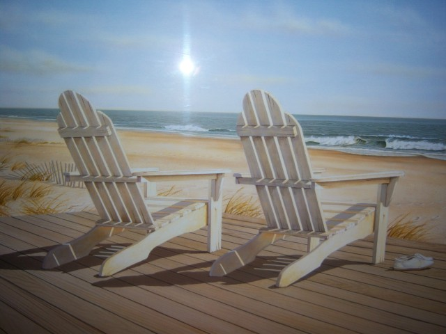 Beach Chair paintings