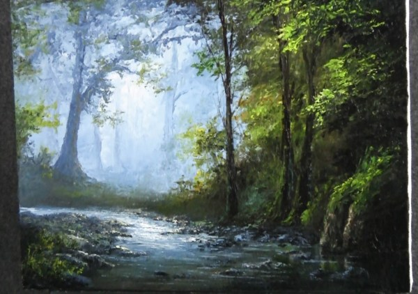 Kevin Hill Painting Landscape