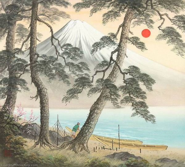 Famous Japanese Landscape Paintings