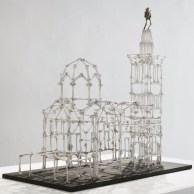 Notre Dame des Os, 2009, bronze, 65x57x20cm © JCLett