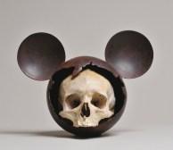 Micky skull II, 2006, 27x33x21cm ©JBernard