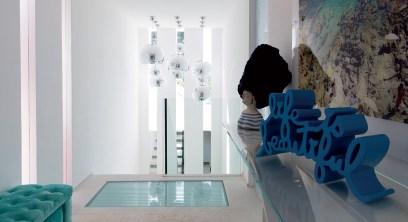 Riviera - Casa - Blue - White -Paolo Sandulli -Vestibule