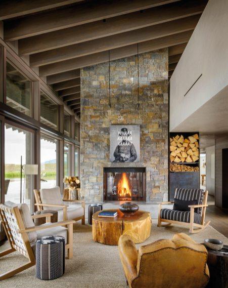 Residence Montana cheminé
