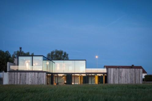 Govaert & Vanhoutte - Résidence DBK baie vitrée