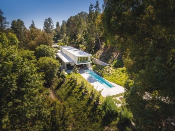 La résidence Coldwater Canyon, Beverly Hills, CA. © EYRC Architects
