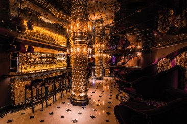 Le restaurant Park Chinois à Londres (2016). © Peter Kociha