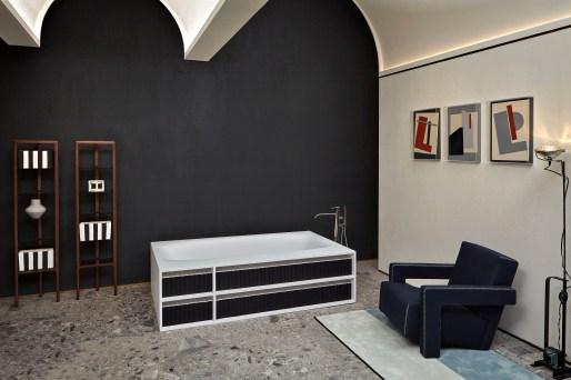 antoniolupi Showroom Milano Vasca Biblio