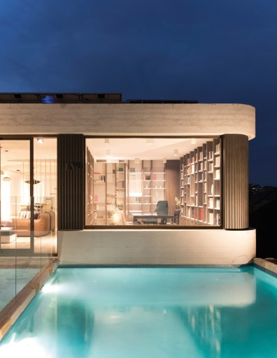 luigi rosselli architects the books house