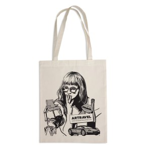 Tote bag Artravel