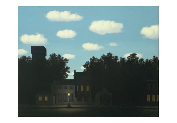 Ren Magritte Empire Des Lumires 1950 York