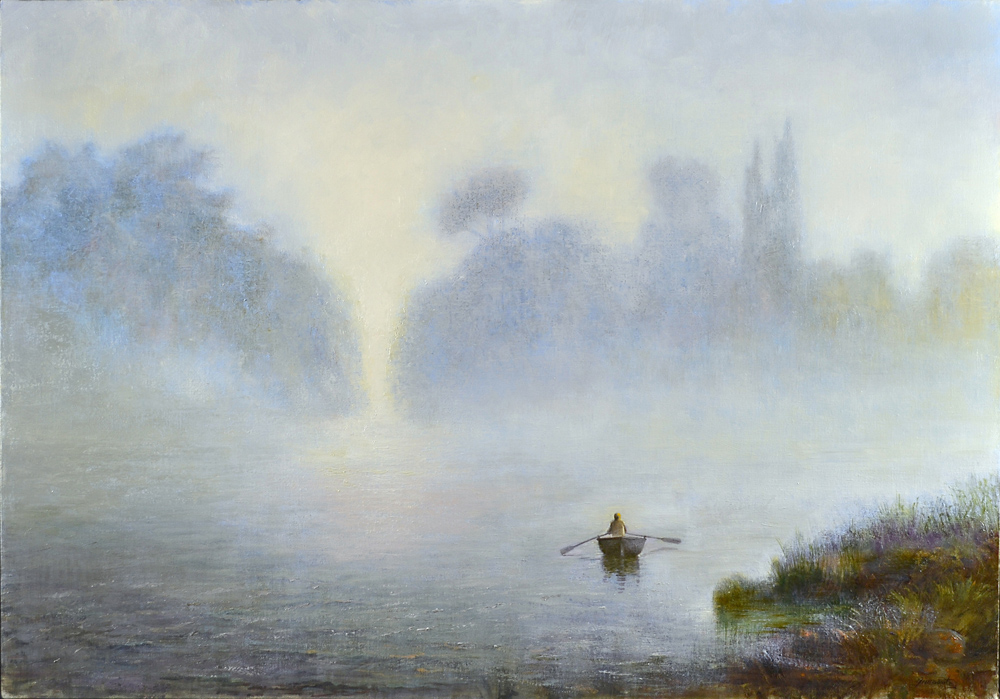 Ancora metafisica ma del paesaggio romantico  Artribune