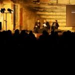Joseph Kosuth con Alberto Dambruoso e Marco Tonelli