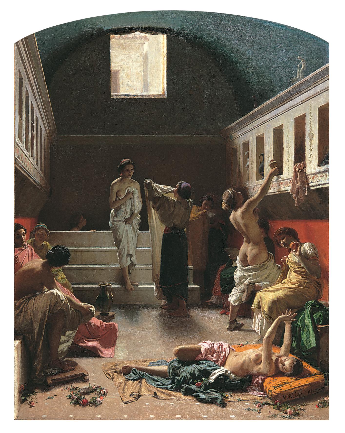 Achille Beltrame  Ritratto muliebre  191017 ca  Artribune