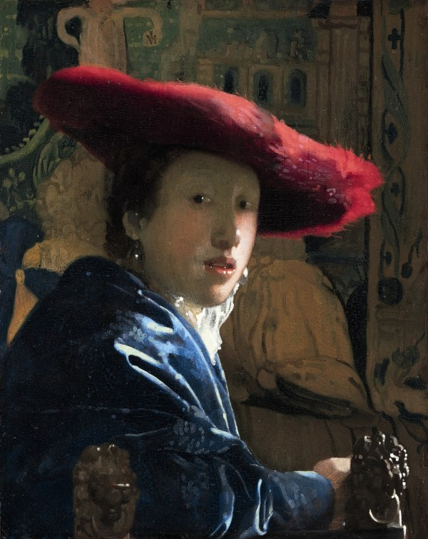 Johannes Vermeer Girl With Red Hat National