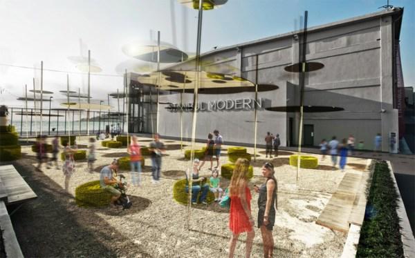 Rendering Di Sky Spotting Stop L Istanbul Museum Of Modern Art 1 Artribune