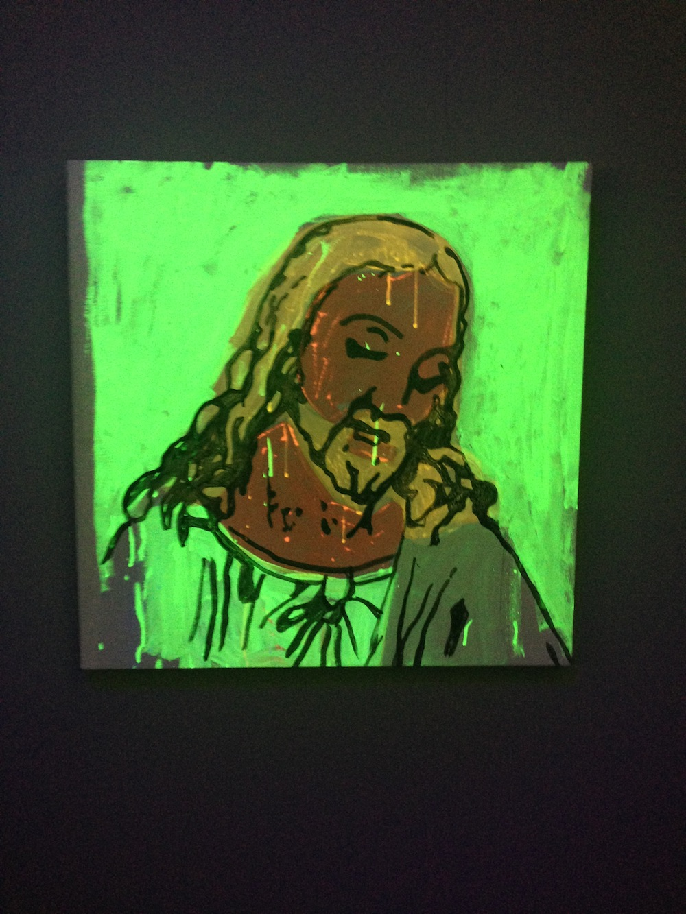 hight resolution of andy warhol detail of the last supper 1986 courtesy the brant foundation