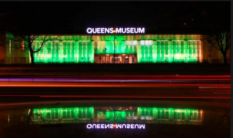 La riapertura del Queens Museum of Art, New York 2013