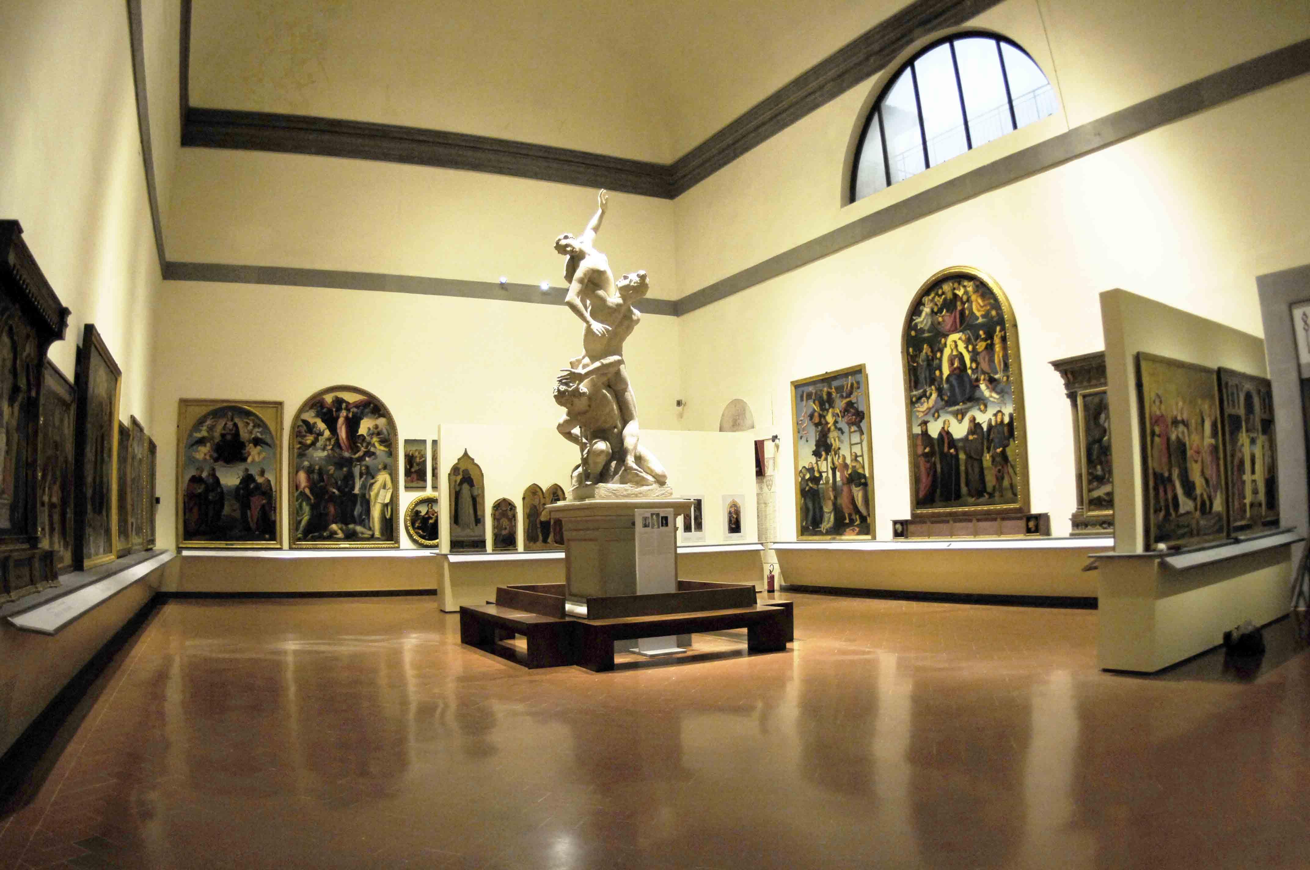 Sala del Colosso Galleria dellAccademia Firenze  Artribune