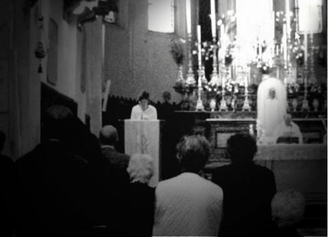 Maurizio Mercuri, Happening in una Chiesa di Faenza, 2008