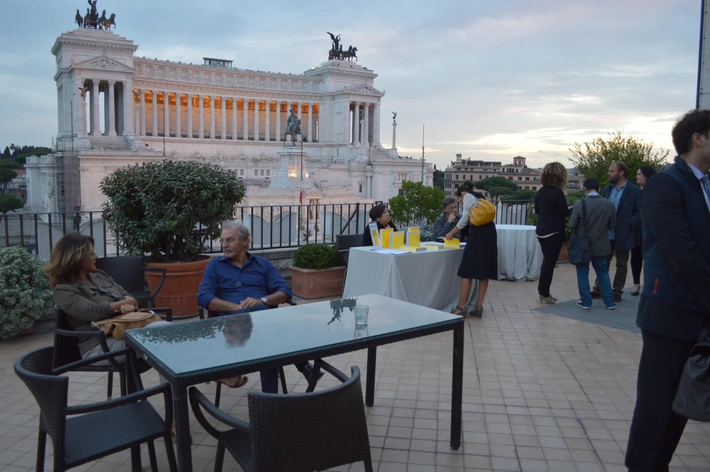 Presentazione del volume Terrazza Roma 12  Artribune