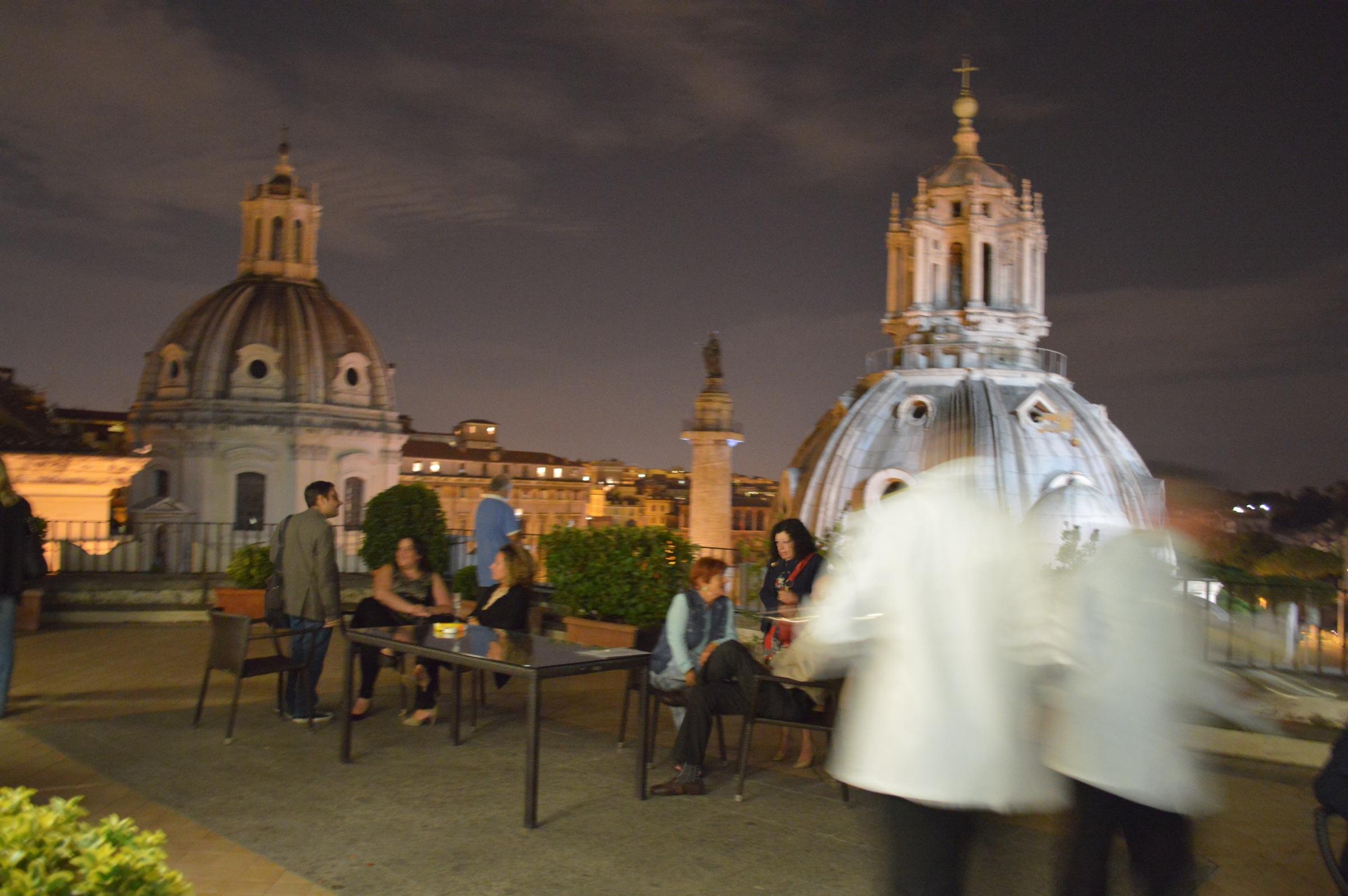 La Quadriennale di Roma su carta Ecco chiccera alla presentazione di Terrazza atlante della