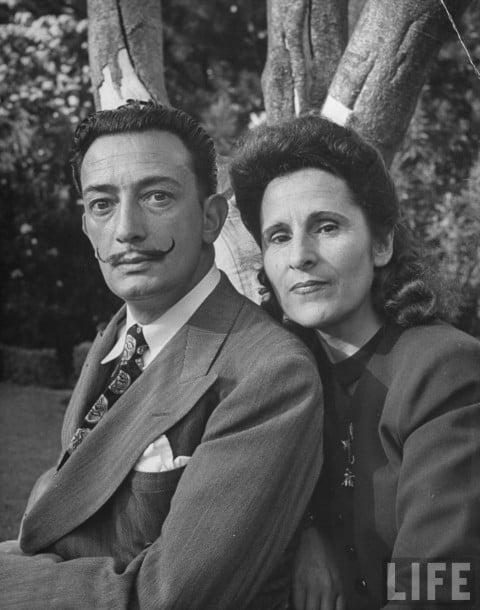 Salvador Dalì e Galan su Life, 1945