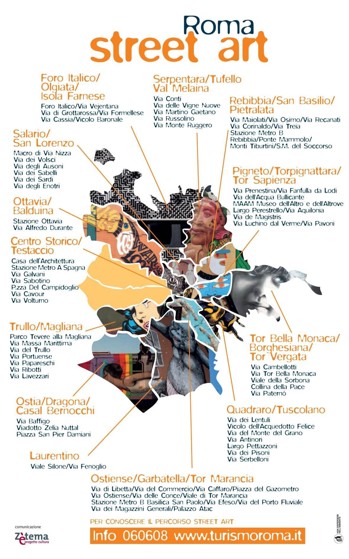 La mappa del Comune di Roma  Artribune