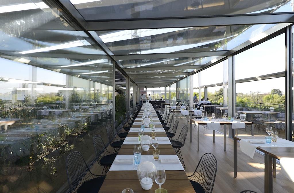 OBR e il nuovo ristorante sulla terrazza della Triennale di Milano  Artribune