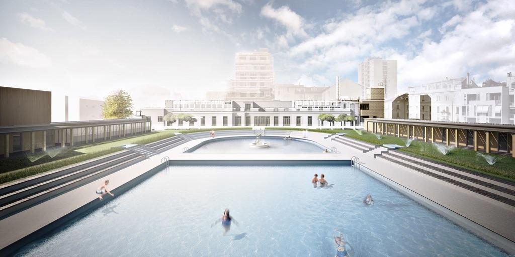 Le piscine Caimi e il Teatro Franco Parenti  Artribune