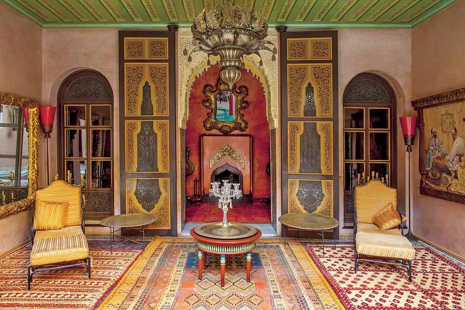 La casa di Marta Marzotto a Marrakesh  Artribune