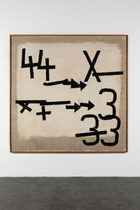 Jannis Kounellis, Senza titolo, 1959. © 2017 The Estate of Jannis Kounellis, Artists Rights Society (ARS), New York - SIAE, Rome. Courtesy Kunstmuseum Basel and Sammlung Goetz, München. Photo Wilfried Petzi, Munich