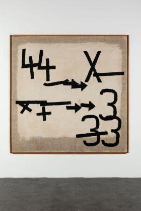 Jannis Kounellis, Senza titolo, 1959. © 2017 The Estate of Jannis Kounellis, Artists Rights Society (ARS), New York - SIAE, Rome. Courtesy Kunstmuseum Basel and Sammlung Goetz, München. Photo Wilfried Petzi, Munich