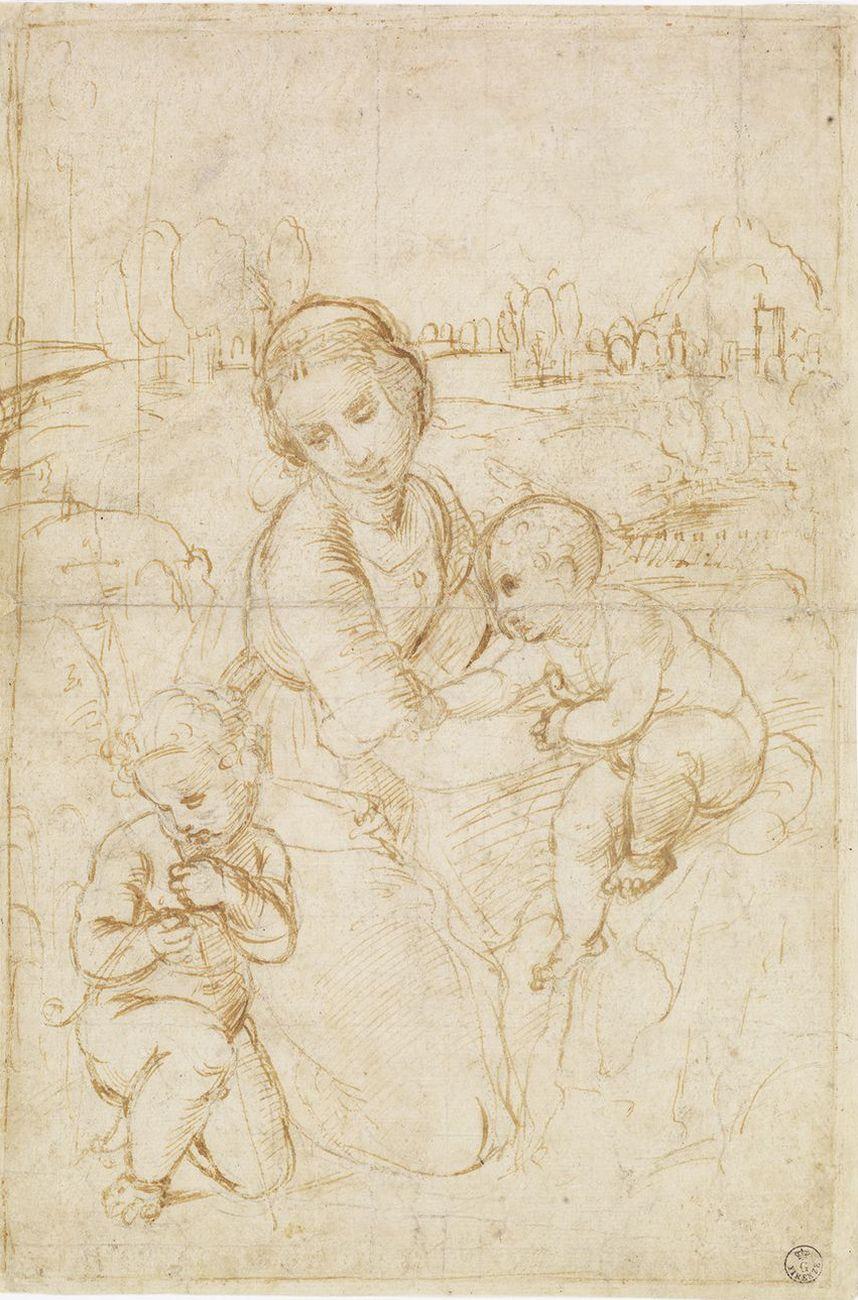 La Madonna Esterhzy di Raffaello A Roma  Artribune