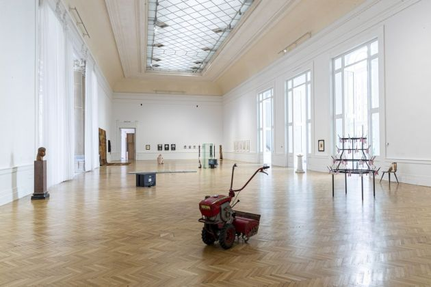 Io dico Io – I say I. Installation view at Galleria Nazionale d'Arte Moderna e Contemporanea, Roma 2021. Photo Alessandro Garofalo