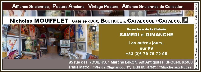 affiches anciennes specialite